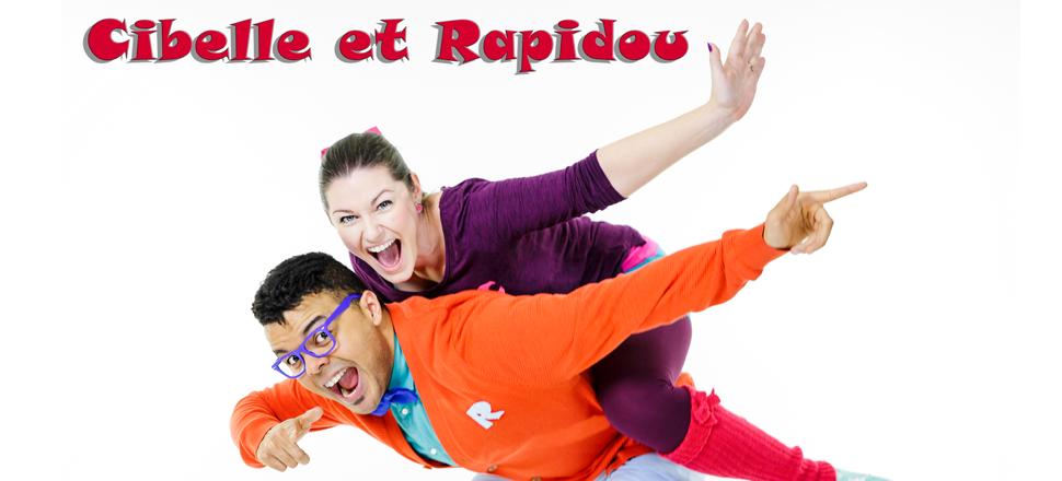 Cibelle et Rapidou - spectacle pour enfants - spectacle jeunesse